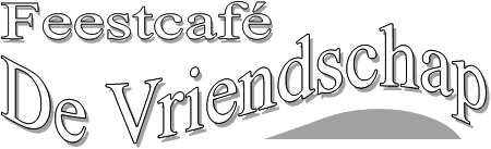feestcafe de vriendschap